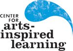 Logo for Center for arts and inspired learning logo